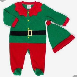 Baby Gear Christmas Elf -2 piece outfit NWT